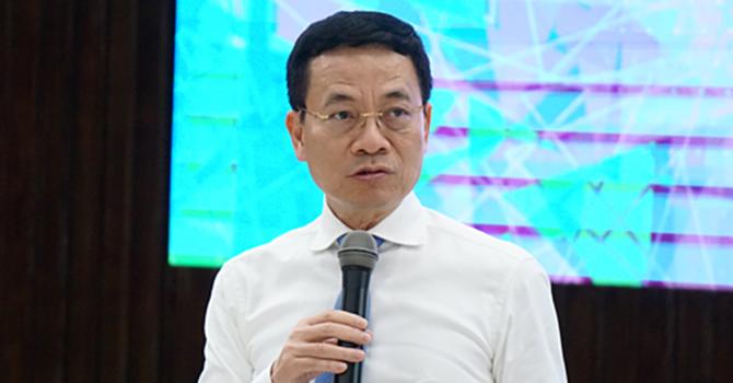 """Ông Nguyễn Mạnh Hùng: """"Nên làm mạng xã hội, công cụ tìm kiếm thay Facebook, Google"""""""