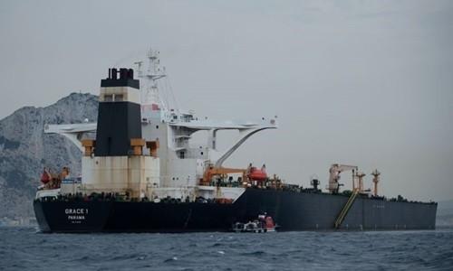 """Anh có thể sắp thả """"siêu tàu dầu"""" Iran"""