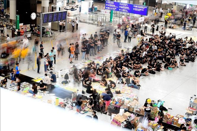 Cảnh sát Hong Kong bắt giữ hơn 748 đối tượng biểu tình quá khích