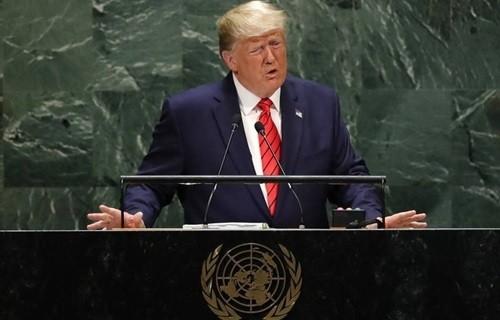Ông Trump chỉ trích Trung Quốc tại Liên Hợp Quốc