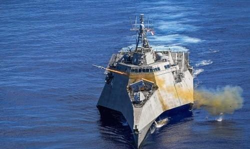 Tàu chiến Mỹ phóng thử tên lửa diệt hạm mới