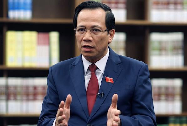 """Bộ trưởng Đào Ngọc Dung: """"Không có chuyện vỡ quỹ bảo hiểm xã hội"""""""