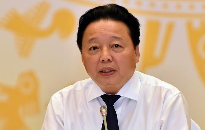 """Bộ trưởng Trần Hồng Hà: """"Nước nhiễm bẩn thể hiện sự vô trách nhiệm"""""""