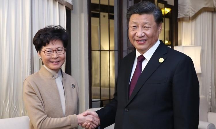 Ông Tập gặp trưởng đặc khu Hong Kong