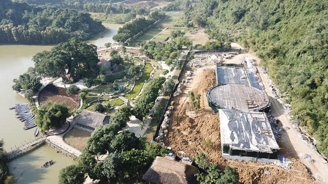 Ngang nhiên xây dựng sai phép trong vùng lõi di sản Tràng An