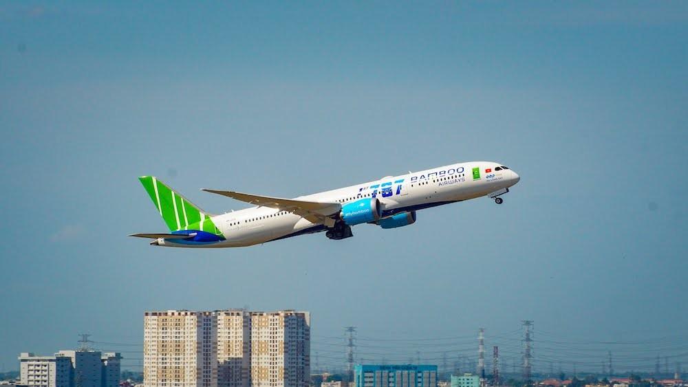 Bamboo Airways cung ứng 15% tải hàng không nội địa dịp Tết, nắm 12,3% thị phần trong tháng 12/2019