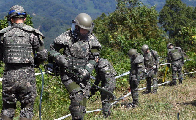 UNC: Hàn Quốc, Triều Tiên vi phạm lệnh đình chiến khi nã súng ở DMZ