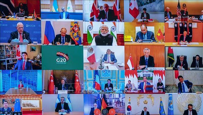 G20 cam kết hỗ trợ hơn 21 tỷ USD cho cuộc chiến đẩy lùi đại dịch COVID-19 trên toàn cầu