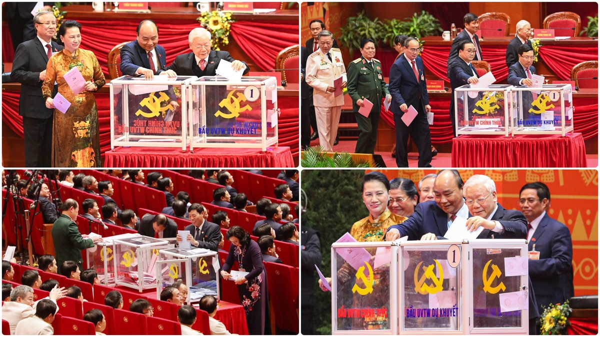 Chính thức công bố Danh sách Ban Chấp hành Trung ương Đảng khóa XIII