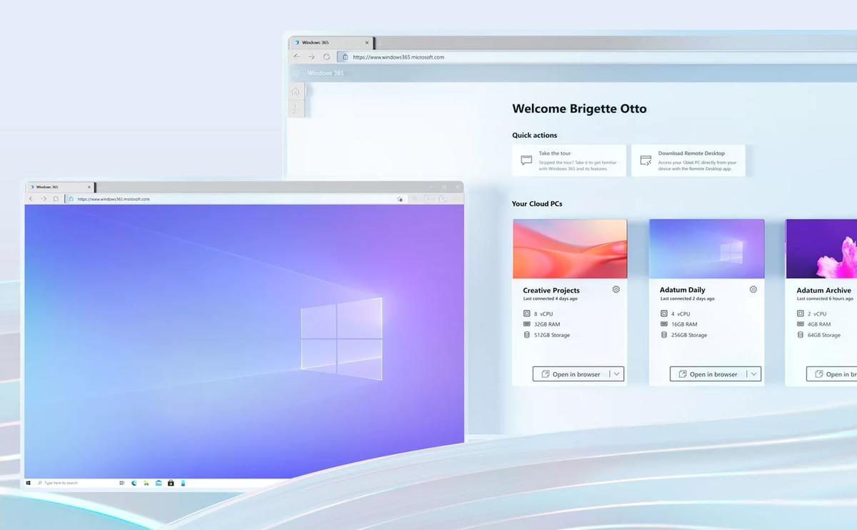 Microsoft ra mắt Windows 365: Trải nghiệm Windows ngay trên trình duyệt web