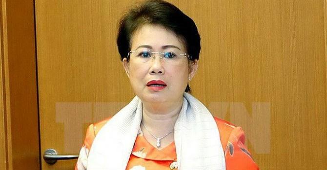 Chấp thuận cho bà Phan Thị Mỹ Thanh thôi làm Đại biểu Quốc hội