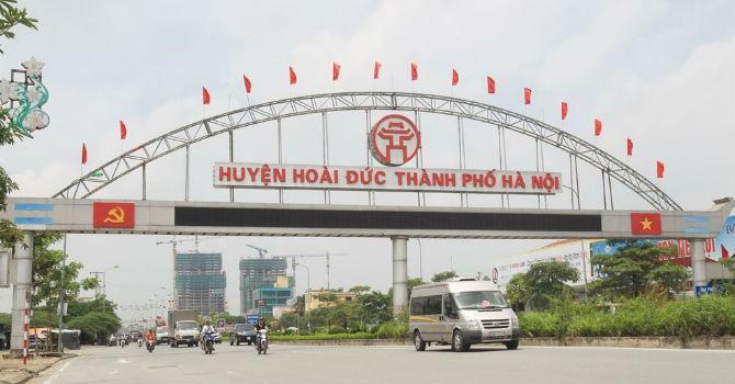 Hà Nội: Huyện Hoài Đức sẽ lên quận vào năm 2020