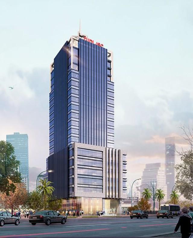 """Dự án hơn 1.000 m2 """"đất vàng"""" ở Hà Nội sắp thuộc về Vietcombank?"""