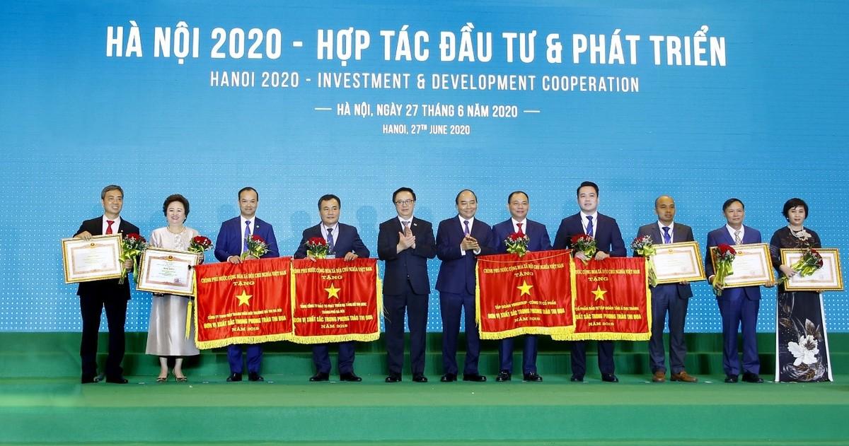 Tập đoàn BRG nhận Bằng khen của Thủ tướng Chính phủ vì những đóng góp tích cực với Thủ đô