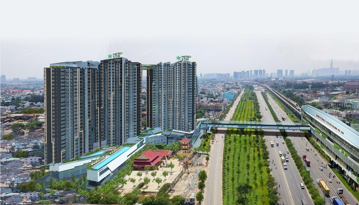 Dự án Metro Star đang xây trên đất công?