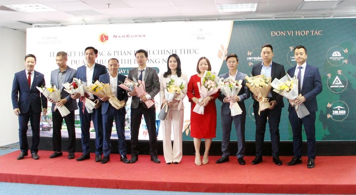 Tập đoàn Nam Cường mở rộng hợp tác, đẩy mạnh phân phối sản phẩm BĐS tại dự án Khu đô thị Dương Nội