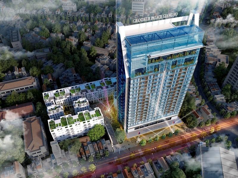 """""""Ông chủ"""" dự án Grandeur Place Giảng Võ cầm cố loạt bất động sản tại ngân hàng"""