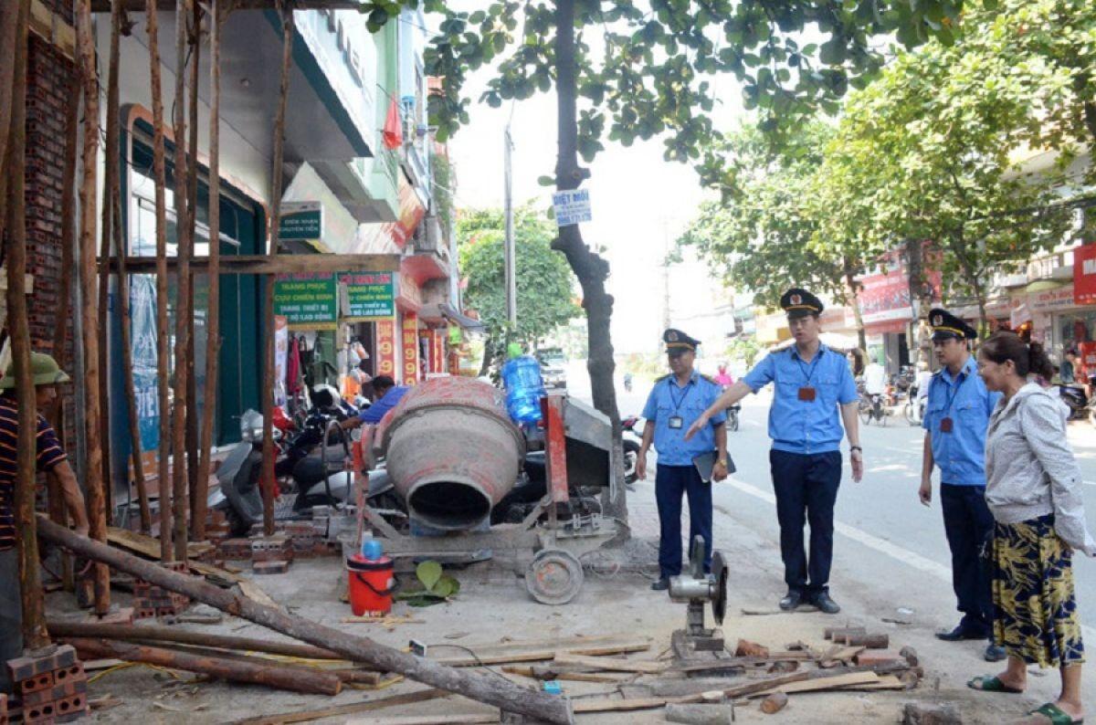 Hà Nội được duy trì Đội Quản lý trật tự xây dựng quận, huyện thêm 3 năm