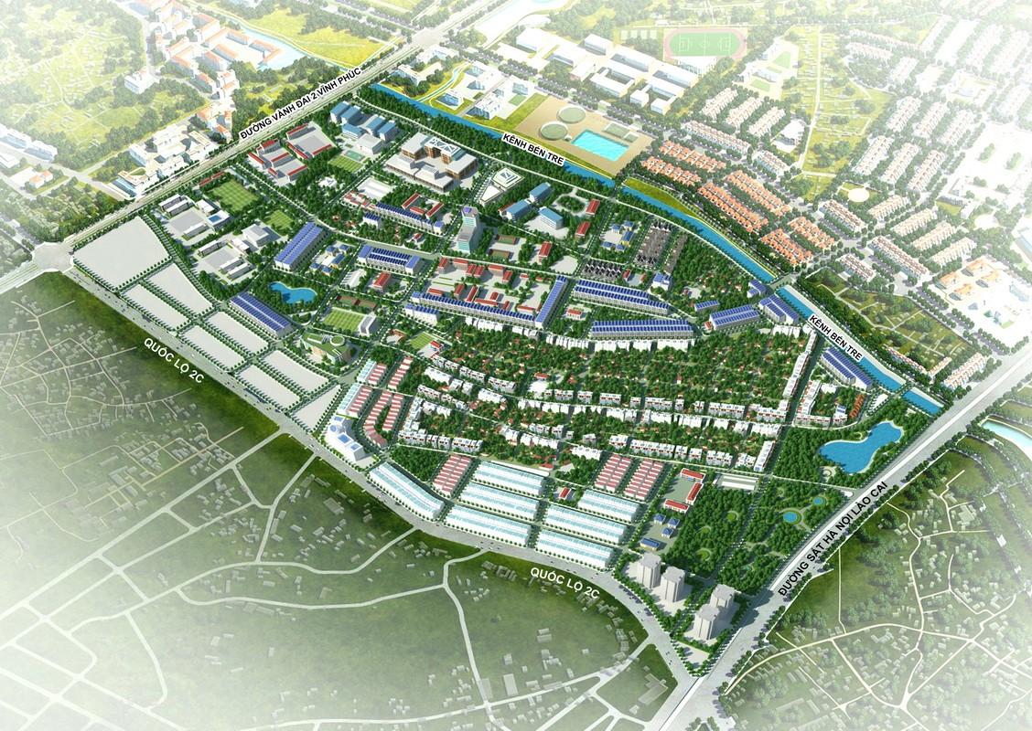 Vĩnh Phúc tìm nhà đầu tư xây khu đô thị gần 10 ha