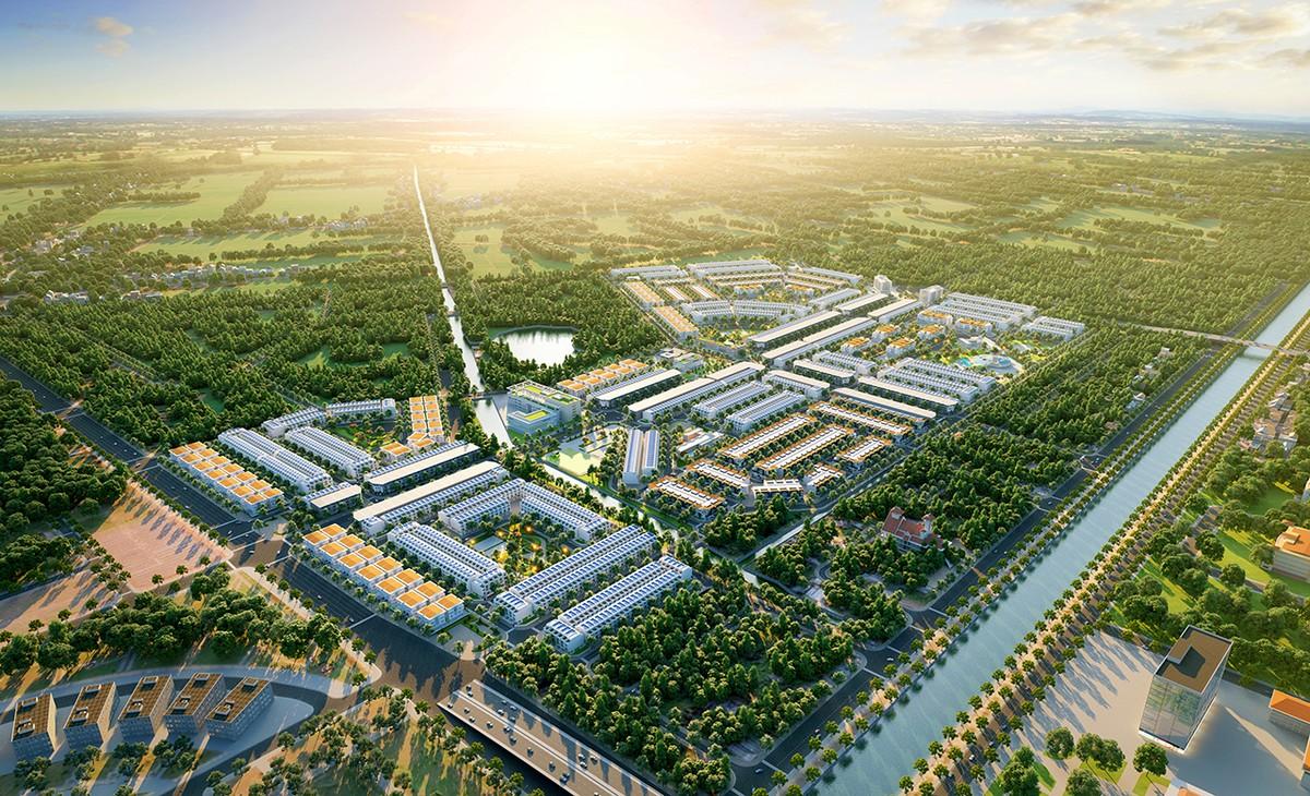 """Đất Xanh """"đặt một chân"""" vào dự án khu đô thị 4.000 tỷ ở Hậu Giang"""