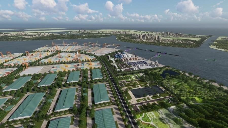 Xuân Cầu xây khu công nghiệp và phi thuế quan 752 ha ở Hải Phòng