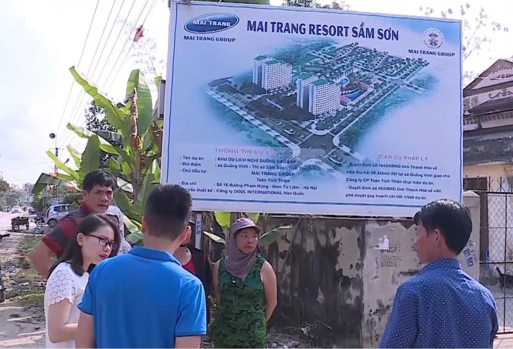 """""""Treo"""" gần 20 năm, dự án Toàn Tích Thiện tại Sầm Sơn tiếp tục được cấp phép gia hạn"""