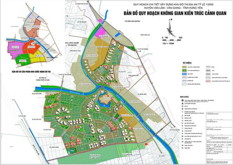 Xây Khu đô thị Hoàng Gia rộng 24,8 ha giáp quốc lộ 5 Hưng Yên