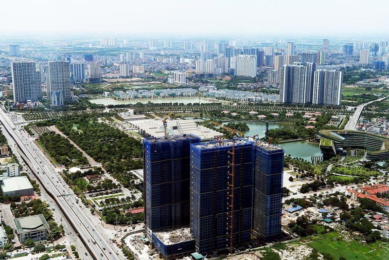 """Loạt dự án chung cư """"đua nhau"""" chào bán với giá 650-800 triệu đồng/m2"""