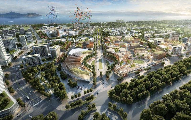 """VinaCapital xin chuyển """"siêu dự án"""" nghỉ dưỡng 4 tỷ USD thành khu đô thị"""