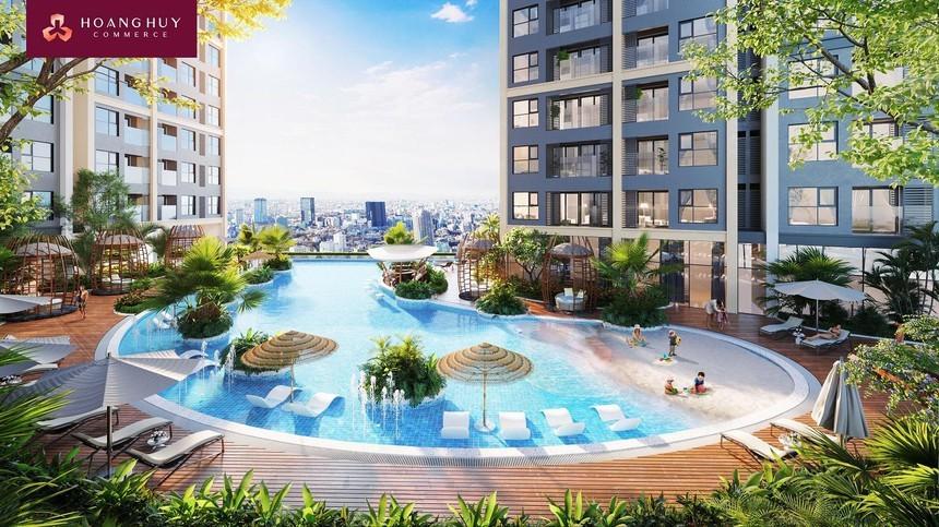 Lãi giảm mạnh, Hoàng Huy tính huy động hơn 2.500 tỷ đồng của cổ đông xây 2 dự án ở Hải Phòng