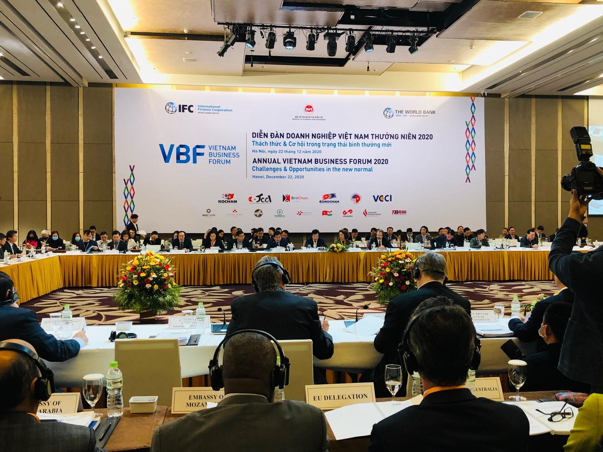 """Những kiến nghị """"nóng"""" tại Diễn đàn Doanh nghiệp Việt Nam 2020"""