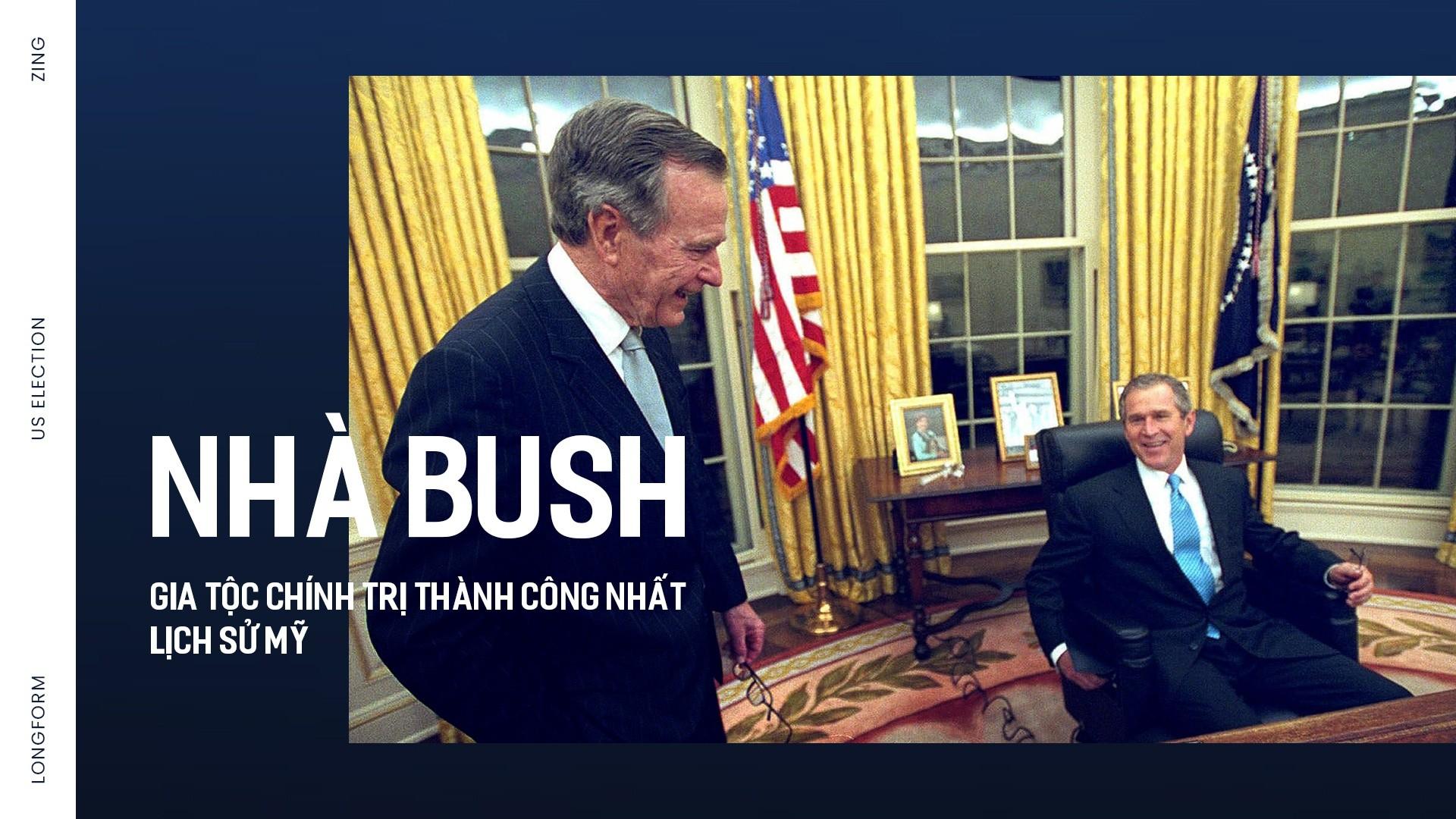 Nhà Bush gia tộc chính trị thành công nhất  lịch sử Mỹ