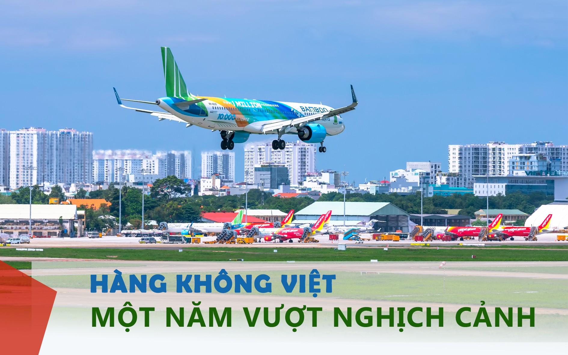 Hàng không Việt, một năm vượt nghịch cảnh