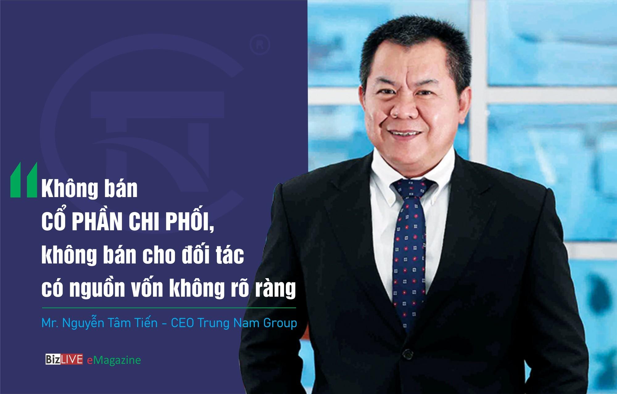 """CEO Trung Nam Group: """"Không bán cổ phần chi phối, không bán cho đối tác có nguồn vốn không rõ ràng"""""""
