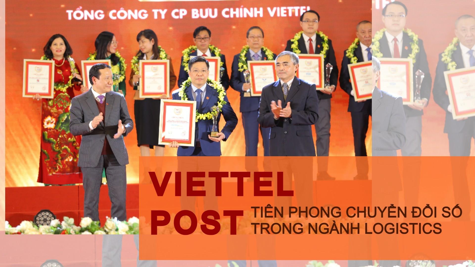 Viettel Post – Tiên phong chuyển đổi số trong ngành logistics