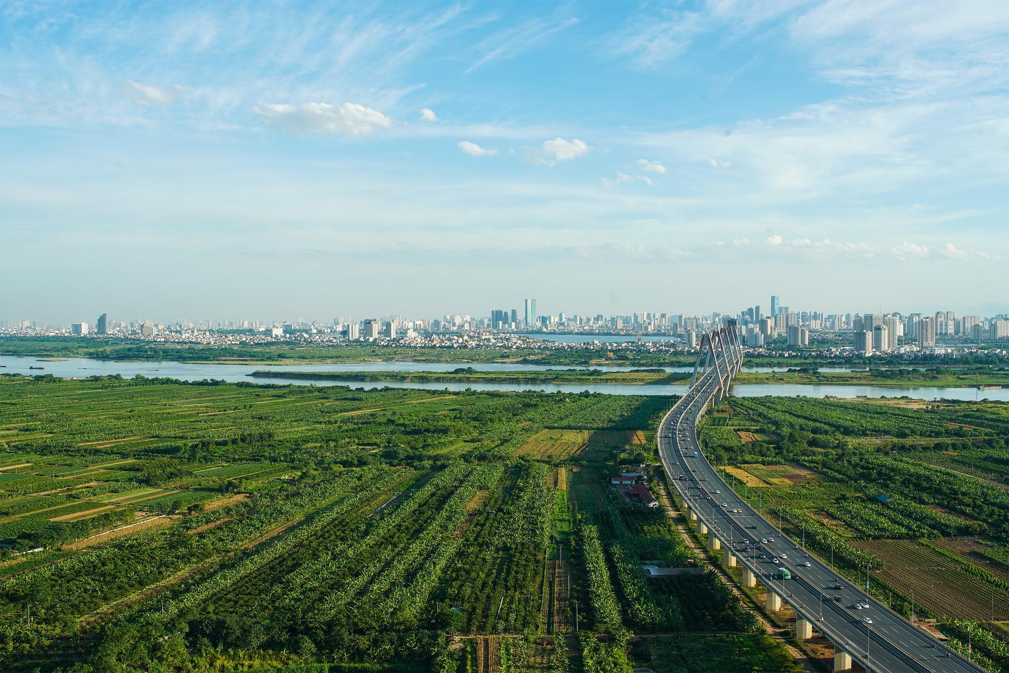 Hơn 5.400 ha bãi sông sẽ được sử dụng thế nào khi Quy hoạch phân khu đô thị sông Hồng được phê duyệt?
