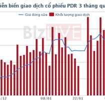 Lãnh đạo PDR giảm lượng cổ phiếu gom vào