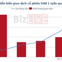 [Cổ phiếu nổi bật tuần] SAM - sức tăng nhờ khoản đầu tư tài chính