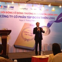 ĐHĐCĐ Thiên Long Group: Đạt tỷ suất lợi nhuận trên doanh thu thuần 10% năm 2015