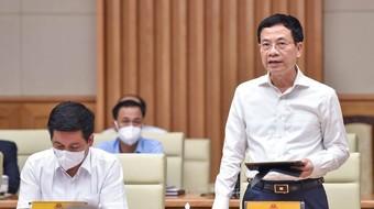 """Bộ trưởng Nguyễn Mạnh Hùng: """"Với chuyển đổi số, 1 tháng COVID có thể bằng cả chục năm"""""""