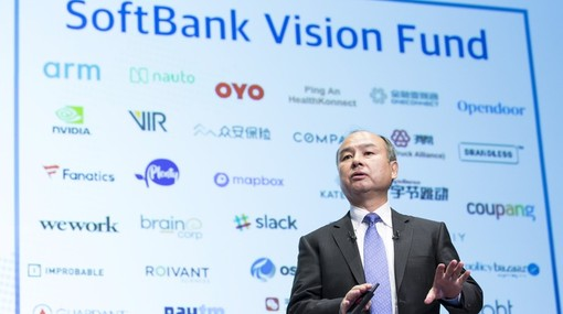SoftBank lãi lớn nhờ rót tiền mua cổ phiếu công nghệ