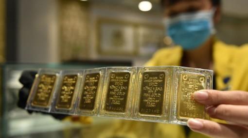 Giá vàng SJC chuyển động cùng chiều thế giới