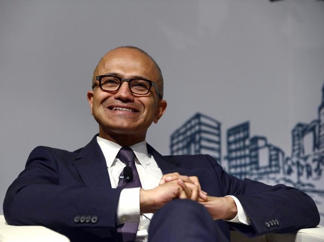 Số 2: Satya Nadella, Giám đốc điều hành, Microsoft