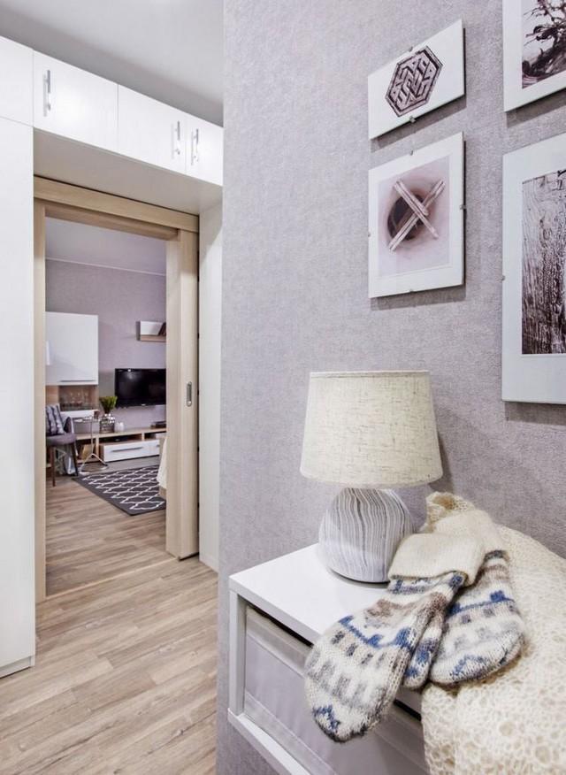 Ngắm căn hộ 37m2 với thiết kế nội thất đẹp ngỡ ngàng - Ảnh 2.