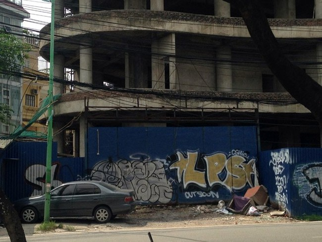 tòa nhà bỏ hoang,tháp ma,Hồ Tây,Handico