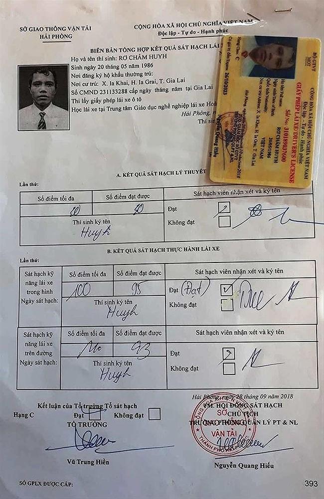 giấy phép lái xe - ảnh 2