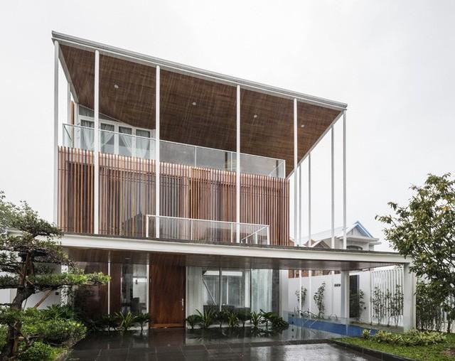 Độc đáo căn nhà ở Huế có thể nhìn xuyên thấu tất cả các phòng - Ảnh 2.