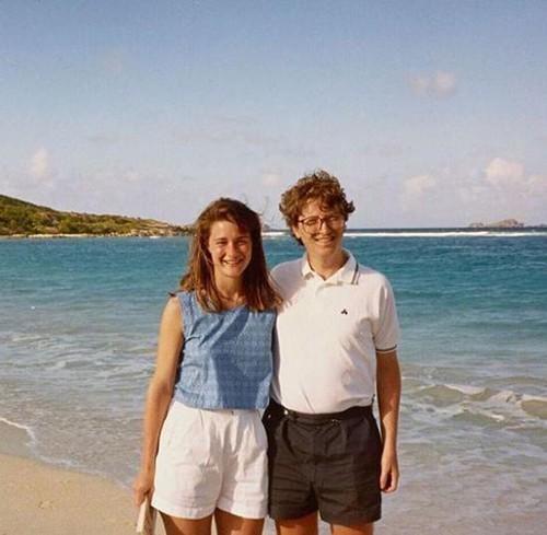 Bill và Milinda cưới nhau năm 1994. Ảnh: World Wide Web.