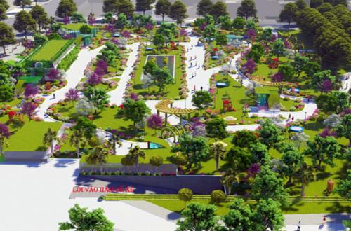 Phối cảnh bãi xe ngầm trong công viên Cầu Giấy sau khi hoàn thành. Ảnh: Chủ đầu tưdự án cung cấp.