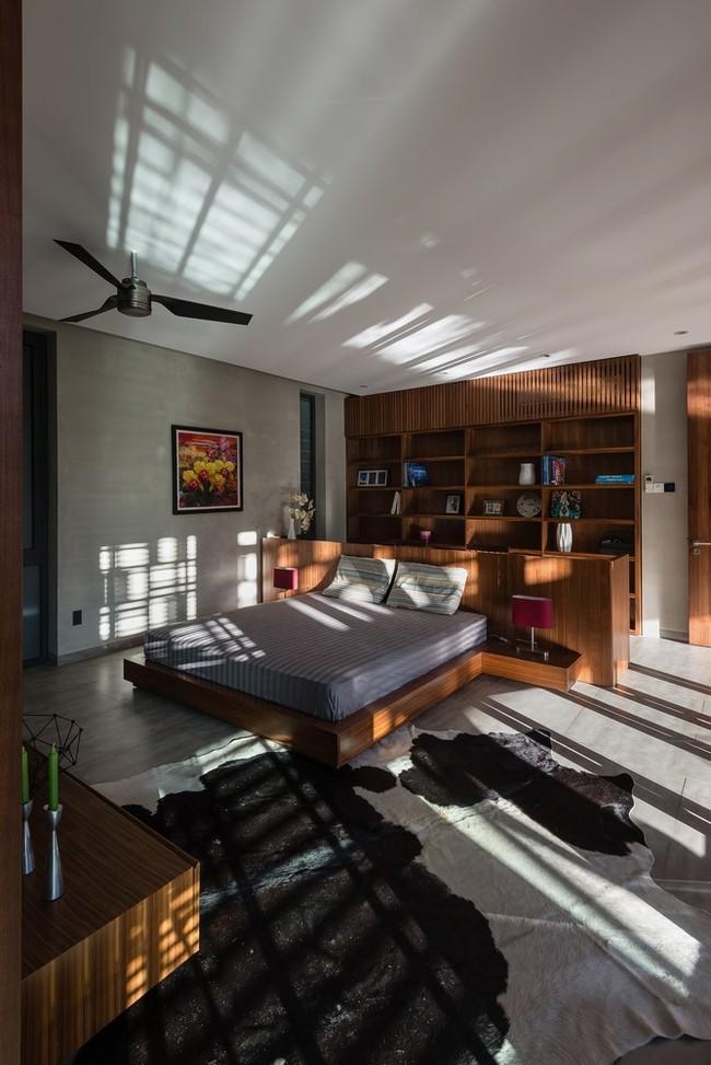 Nội thất trong các phòng đặc biệt là phòng ngủ luôn làm bằng gỗ.